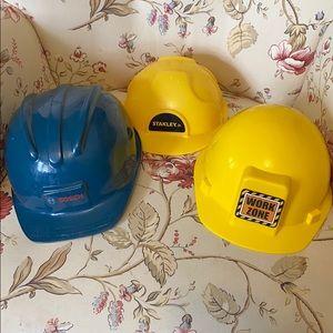 Kids construction hat lot